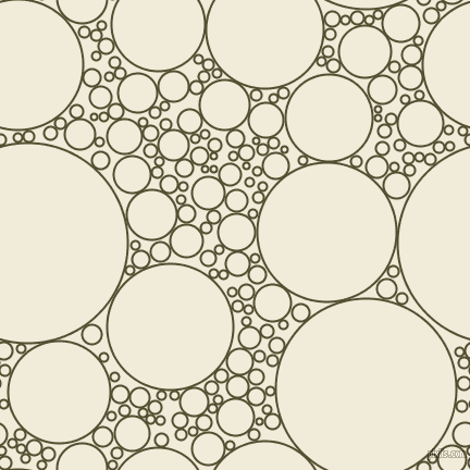 bubbles, circles, sponge, big, medium, small, 2 pixel line width, Thatch Green and Buttery White circles bubbles sponge soap seamless tileable