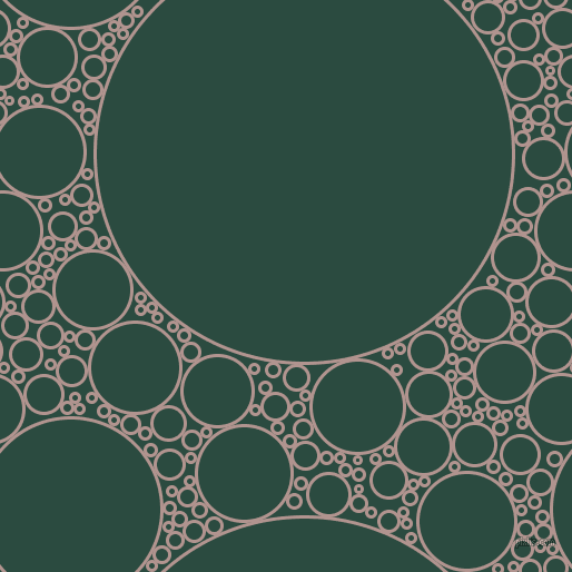bubbles, circles, sponge, big, medium, small, 3 pixel line width, Thatch and Te Papa Green circles bubbles sponge soap seamless tileable