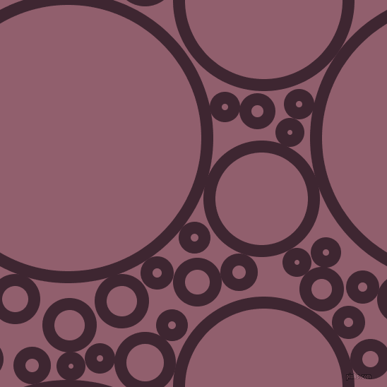 bubbles, circles, sponge, big, medium, small, 17 pixel line width, Toledo and Mauve Taupe circles bubbles sponge soap seamless tileable