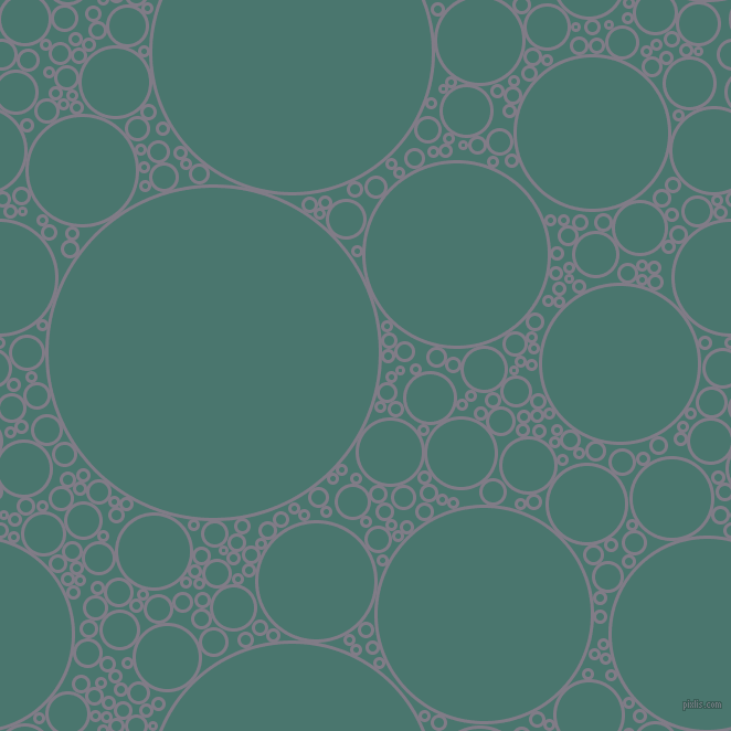 bubbles, circles, sponge, big, medium, small, 3 pixel line width, Topaz and Dark Green Copper circles bubbles sponge soap seamless tileable