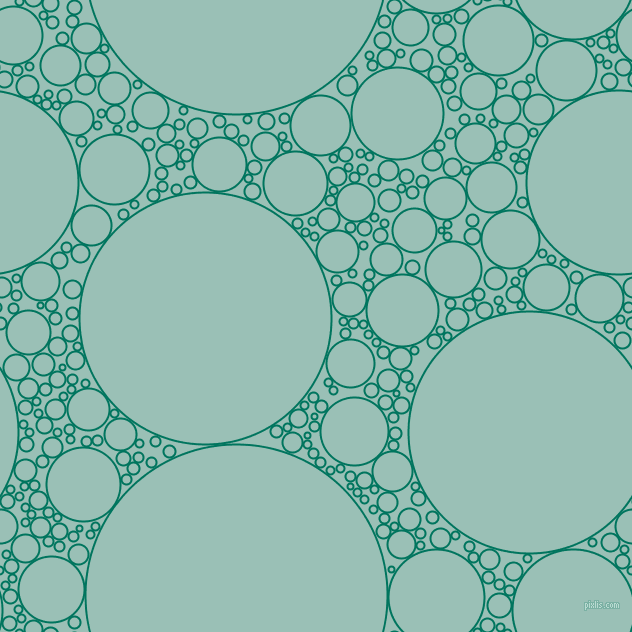 bubbles, circles, sponge, big, medium, small, 2 pixel line width, Tropical Rain Forest and Shadow Green circles bubbles sponge soap seamless tileable