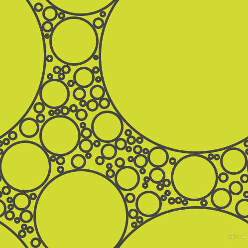 bubbles, circles, sponge, big, medium, small, 5 pixel line width, Tuatara and Bitter Lemon circles bubbles sponge soap seamless tileable