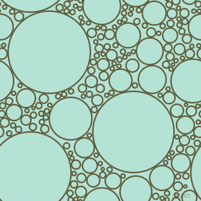 bubbles, circles, sponge, big, medium, small, 3 pixel line width, Verdigris and Cruise circles bubbles sponge soap seamless tileable
