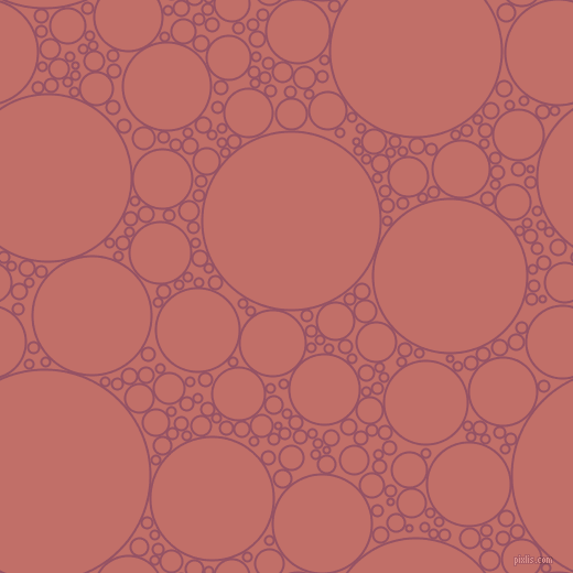 bubbles, circles, sponge, big, medium, small, 2 pixel line width, Vin Rouge and Contessa circles bubbles sponge soap seamless tileable