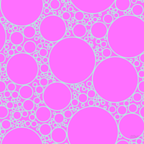 bubbles, circles, sponge, big, medium, small, 3 pixel line widthWater Leaf and Ultra Pink circles bubbles sponge soap seamless tileable