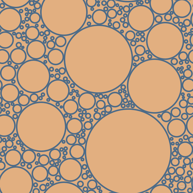 bubbles, circles, sponge, big, medium, small, 5 pixel line width, Wedgewood and Manhattan circles bubbles sponge soap seamless tileable