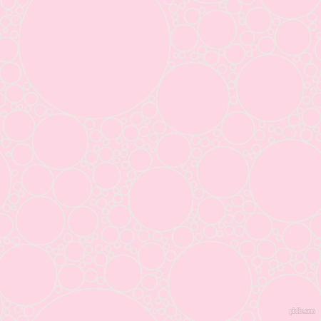 bubbles, circles, sponge, big, medium, small, 2 pixel line width, Whisper and Pig Pink circles bubbles sponge soap seamless tileable