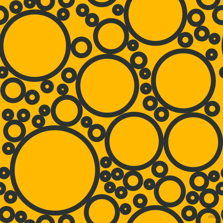 bubbles, circles, sponge, big, medium, small, 17 pixel line width, Woodsmoke and Selective Yellow circles bubbles sponge soap seamless tileable