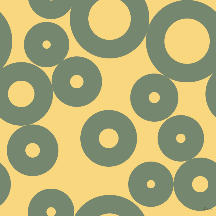 bubbles, circles, sponge, big, medium, small, 65 pixel line width, Xanadu and Golden Glow circles bubbles sponge soap seamless tileable