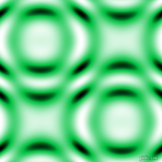 , Dark Pastel Green and Black and White circular plasma waves seamless tileable