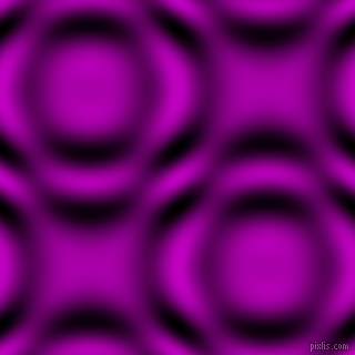 , Deep Magenta and Black and White circular plasma waves seamless tileable