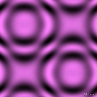 Fuchsia Pink and Black and White circular plasma waves seamless tileable