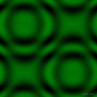 Green and Black and White circular plasma waves seamless tileable