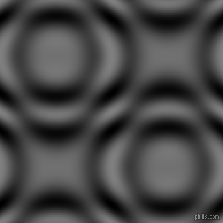 Grey and Black and White circular plasma waves seamless tileable