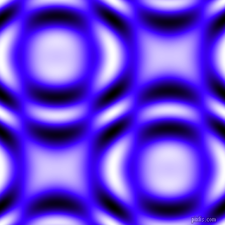 Han Purple and Black and White circular plasma waves seamless tileable