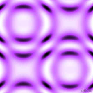 Heliotrope and Black and White circular plasma waves seamless tileable