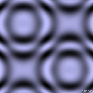 Lavender Blue and Black and White circular plasma waves seamless tileable