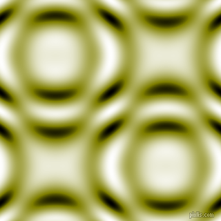 , Olive and Black and White circular plasma waves seamless tileable