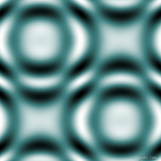 , Paradiso and Black and White circular plasma waves seamless tileable