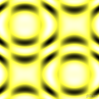 , Paris Daisy and Black and White circular plasma waves seamless tileable