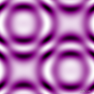 , Purple and Black and White circular plasma waves seamless tileable