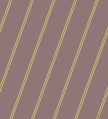 70 degree angle dual striped lines, 3 pixel lines width, 4 and 74 pixel line spacing, dual two line striped seamless tileable
