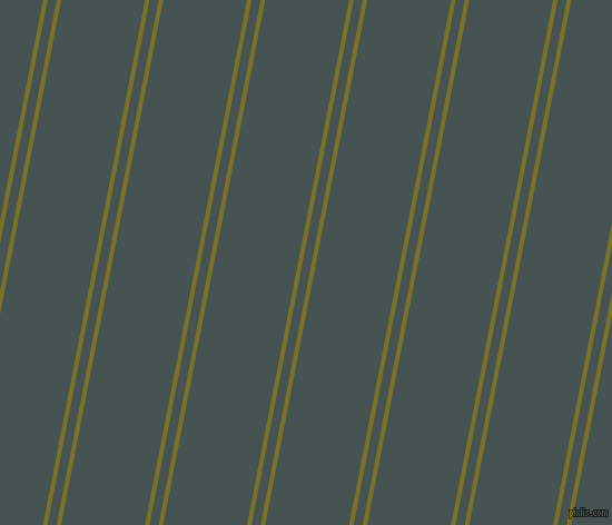 79 degree angles dual stripe line, 4 pixel line width, 8 and 74 pixels line spacing, dual two line striped seamless tileable