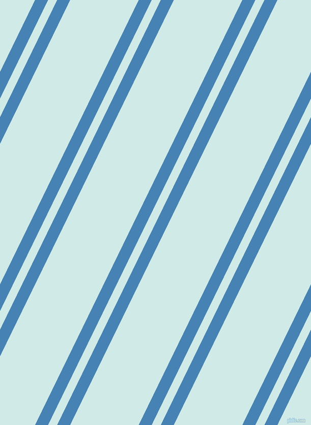 64 degree angles dual stripes lines, 23 pixel lines width, 16 and 121 pixels line spacing, dual two line striped seamless tileable