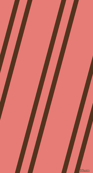 75 degree angle dual stripe line, 16 pixel line width, 26 and 96 pixel line spacing, dual two line striped seamless tileable