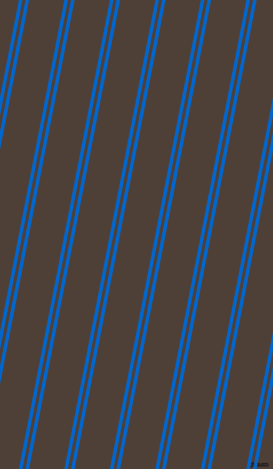 79 degree angle dual stripe line, 7 pixel line width, 6 and 69 pixel line spacing, dual two line striped seamless tileable