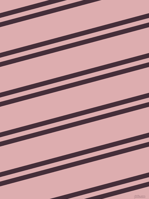 15 degree angles dual striped lines, 15 pixel lines width, 14 and 81 pixels line spacing, dual two line striped seamless tileable