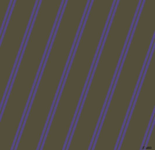 71 degree angle dual stripes lines, 8 pixel lines width, 4 and 64 pixel line spacing, dual two line striped seamless tileable