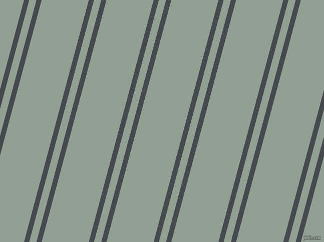 75 degree angles dual stripe line, 10 pixel line width, 14 and 91 pixels line spacing, dual two line striped seamless tileable