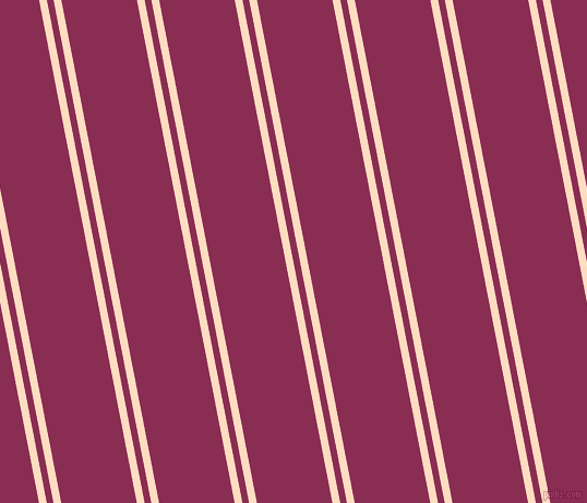 101 degree angles dual stripes lines, 7 pixel lines width, 6 and 68 pixels line spacing, dual two line striped seamless tileable