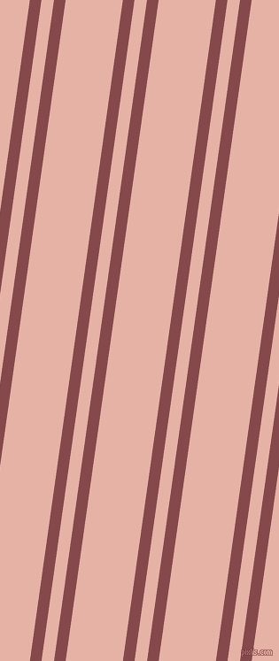 82 degree angles dual striped lines, 13 pixel lines width, 14 and 64 pixels line spacing, dual two line striped seamless tileable