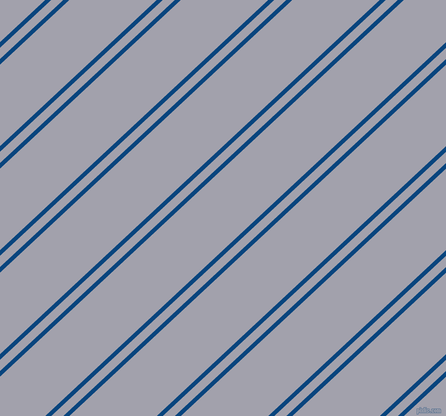 43 degree angle dual striped lines, 6 pixel lines width, 12 and 87 pixel line spacing, dual two line striped seamless tileable