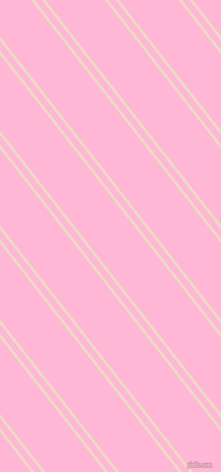 128 degree angles dual stripe line, 4 pixel line width, 8 and 66 pixels line spacing, Almond and Cotton Candy dual two line striped seamless tileable