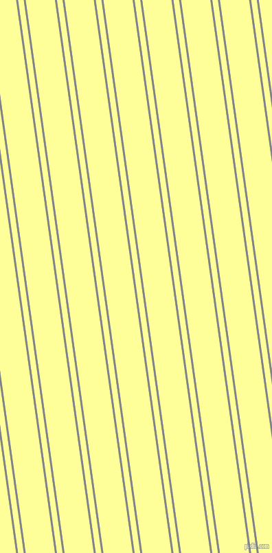 98 degree angles dual striped line, 3 pixel line width, 8 and 42 pixels line spacing, Aluminium and Canary dual two line striped seamless tileable
