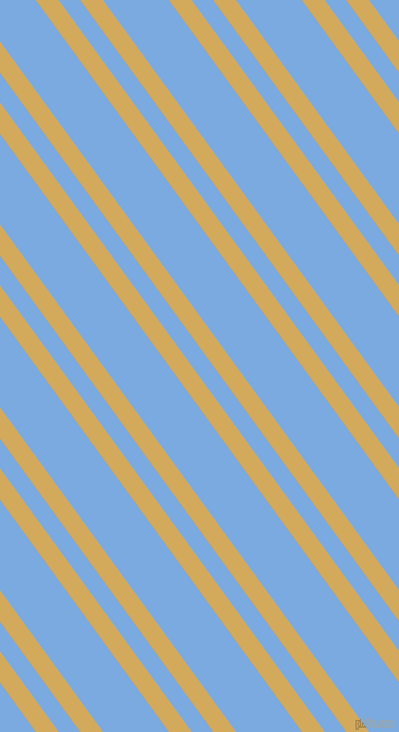 126 degree angle dual stripes lines, 17 pixel lines width, 16 and 49 pixel line spacing, Apache and Jordy Blue dual two line striped seamless tileable