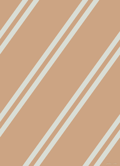 54 degree angle dual stripe lines, 16 pixel lines width, 14 and 117 pixel line spacing, Aqua Haze and Cameo dual two line striped seamless tileable