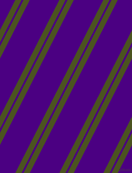 63 degree angles dual striped line, 18 pixel line width, 6 and 86 pixels line spacing, Army green and Indigo dual two line striped seamless tileable