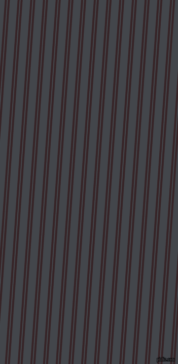 86 degree angle dual stripe lines, 4 pixel lines width, 2 and 15 pixel line spacing, Aubergine and Steel Grey dual two line striped seamless tileable