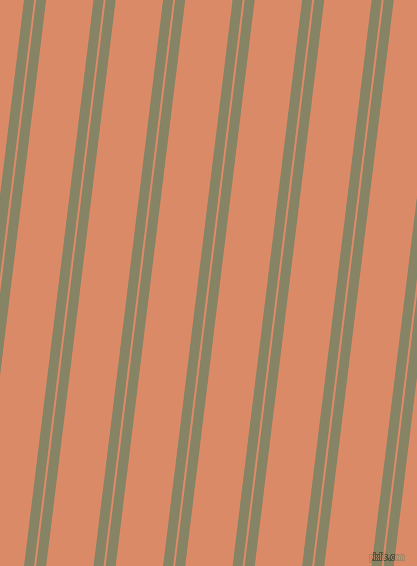 83 degree angle dual stripe line, 10 pixel line width, 2 and 47 pixel line spacing, Bandicoot and Copper dual two line striped seamless tileable