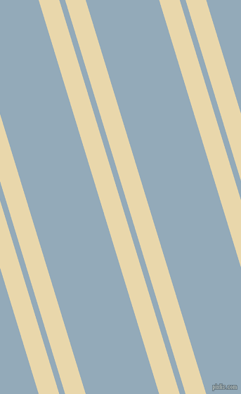107 degree angles dual stripes line, 28 pixel line width, 8 and 100 pixels line spacing, Beeswax and Nepal dual two line striped seamless tileable