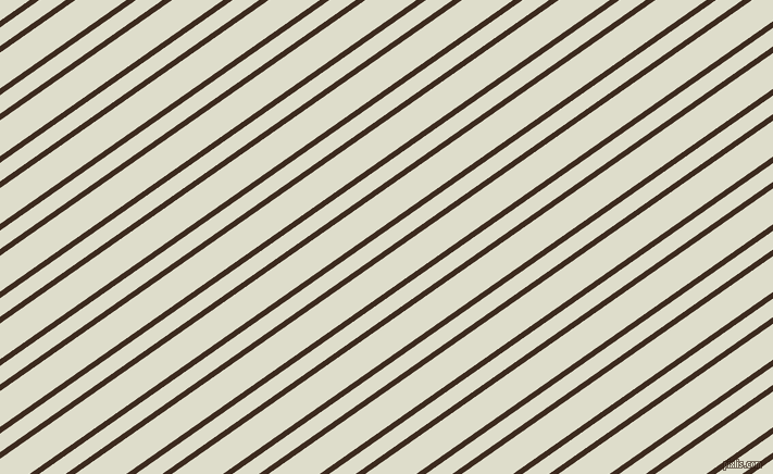 35 degree angle dual stripe line, 5 pixel line width, 14 and 27 pixel line spacing, Bistre and Green White dual two line striped seamless tileable