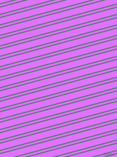 15 degree angles dual stripes line, 4 pixel line width, 6 and 20 pixels line spacing, Blue Bayoux and Heliotrope dual two line striped seamless tileable