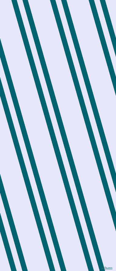 106 degree angle dual stripes lines, 17 pixel lines width, 18 and 70 pixel line spacing, Blue Lagoon and Lavender dual two line striped seamless tileable