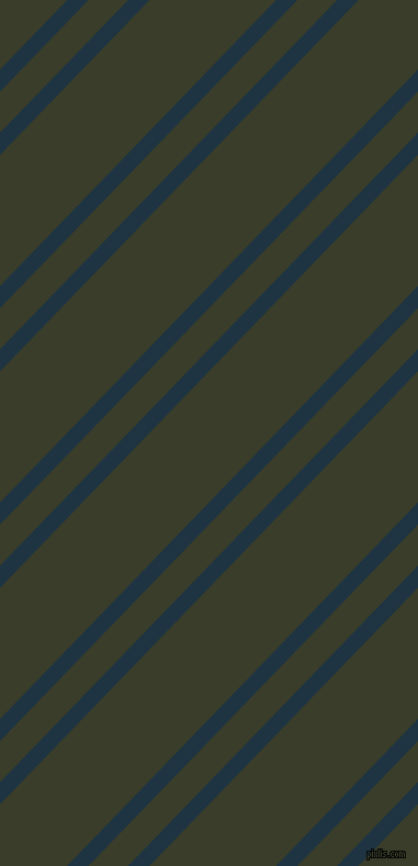 46 degree angles dual stripes line, 14 pixel line width, 26 and 83 pixels line spacing, Blue Whale and Green Kelp dual two line striped seamless tileable