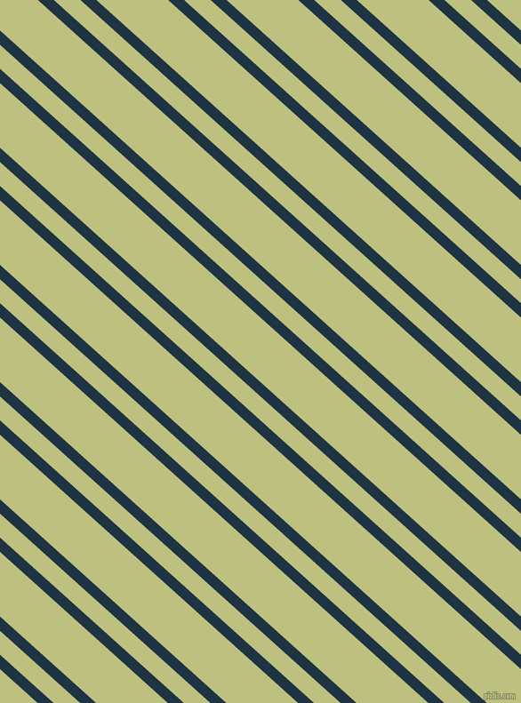 138 degree angle dual stripe lines, 12 pixel lines width, 20 and 54 pixel line spacing, Blue Whale and Pine Glade dual two line striped seamless tileable