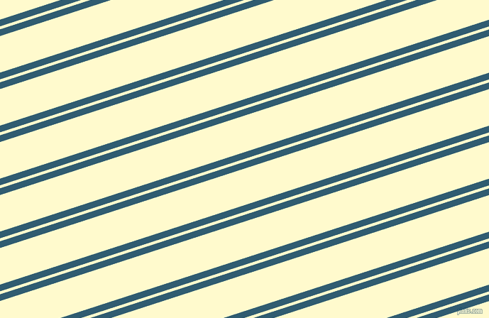 18 degree angles dual stripes line, 9 pixel line width, 4 and 49 pixels line spacing, Blumine and Lemon Chiffon dual two line striped seamless tileable
